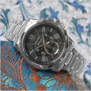 セイコー SEIKO 腕時計 SSC597J1 メンズ メタルベルト プルミエ クロノグラフ ソーラー (Cal V175)|ippin