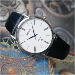 セイコー SEIKO 腕時計 SKP395J1 メンズ レザーベルト プルミエ クォーツ (Cal 7N39)|ippin