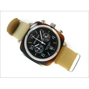 ブリストン BRISTON 腕時計 310S1NK 40mm 13140.SA.T.1.NK クラブマスタークラシック アセテート クォーツ クロノグラフ (ベルト長さ 280mm)|ippin