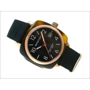 ブリストン BRISTON 腕時計 320P1NB 40mm 13240.PRA.T.1.NB クラブマスタークラシック アセテート ゴールド クォーツ (ベルト長さ 245mm)|ippin