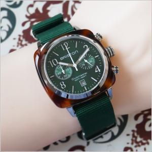 ブリストン BRISTON 腕時計 510S10BH 40mm 15140.SA.T.10.NBG クラブマスタークラシック アセテート クォーツ クロノグラフ (ベルト長さ 280mm)|ippin