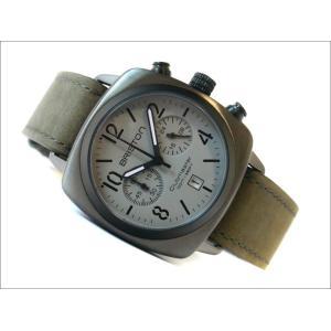 ブリストン BRISTON 腕時計 510S12VB 40mm 15140.SPG.C.12.LVB クラブマスタークラシック スチール ガン クォーツ クロノグラフ (ベルト長さ 235mm)|ippin
