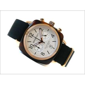 ブリストン BRISTON 腕時計 710PR2NB 40mm 17140.PRA.T.2.NB クラブマスタークラシック アセテート ゴールド クォーツ クロノグラフ (ベルト長さ 245mm)|ippin