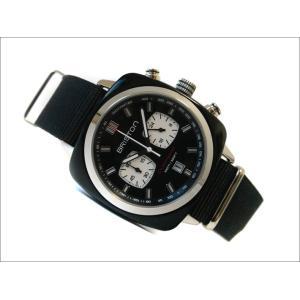 ブリストン BRISTON 腕時計 712S1NB 42mm 17142.SA.BS.1.NB クラブマスタースポーツ アセテート ブラック クォーツ クロノグラフ (ベルト長さ 280mm)|ippin