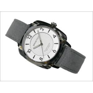 ブリストン BRISTON 腕時計 856S2LG 36mm 18536.SA.GRE.2G.LNG クラブマスターシック フォーエレメンツ エアー クォーツ (ベルト長さ 210mm)|ippin