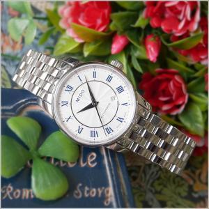 MIDO ミドー 腕時計 M7600.4.21.1 バロンチェッリ 機械式自動巻 メタルベルト レディース|ippin