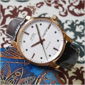 MIDO ミドー 腕時計 M005.430.36.031.80 マルチフォート ジェント 機械式自動巻 レザーベルト メンズ|ippin