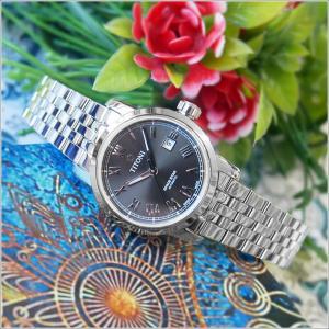 チトーニ TITONI 腕時計 23538 S-570 スペーススター SPACE STAR レディース 機械式自動巻 メタルベルト ippin