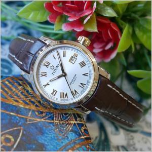 チトーニ TITONI 腕時計 23538 SY-ST-561 スペーススター SPACE STAR レディース 機械式自動巻 レザーベルト ippin