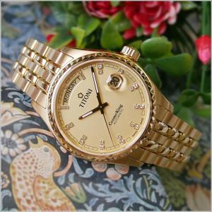 チトーニ TITONI 腕時計 797 G-306 コスモ COSMO メンズ 機械式自動巻 メタルベルト ippin