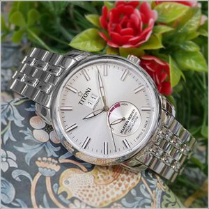 チトーニ TITONI 腕時計 94688 S-578 マスターシリーズ MASTER SERIES メンズ 機械式自動巻 メタルベルト ippin