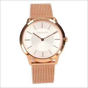 カルバンクライン CALVIN KLEIN 腕時計 CK K3M22626 ミニマル クォーツ レディース メタルベルト|ippin