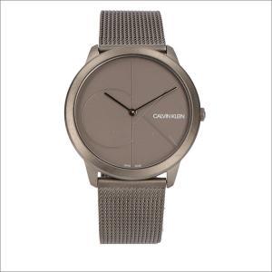 カルバンクライン CALVIN KLEIN 腕時計 CK K3M517P4 ミニマル クォーツ メンズ メタルベルト|ippin