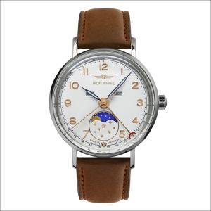 アイアンアニー IRON ANNIE 腕時計 5977-1QZ アマゾナス クォーツ ムーンフェイズ レディース レザーベルト|ippin
