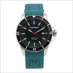 ウェンガー WENGER 腕時計 01.0641.128 シーフォース シリコンラバーベルト メンズ|ippin