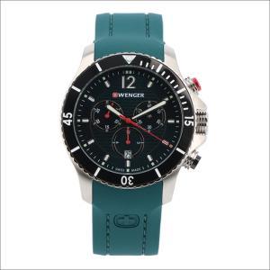 ウェンガー WENGER 腕時計 01.0643.114 シーフォース シリコンラバーベルト メンズ|ippin