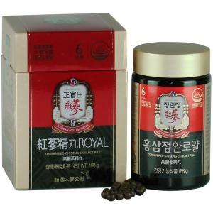 高麗人参 正官庄 紅参精丸ロイヤル(免税品) 168g/800粒