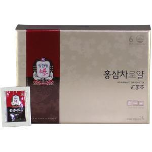 高麗人参 正官庄 紅参茶ロイヤル (免税品) 100包×3