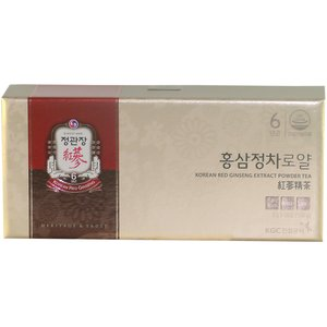 高麗人参 正官庄 紅参精茶ロイヤル (免税品) 50包
