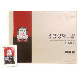 高麗人参 正官庄 紅参精茶ロイヤル (免税品) 100包|ippindou