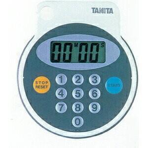 タニタ 防滴タイマー100分計(SN-612B) サイズ(質量):D14×W87.5×H99mm(約...