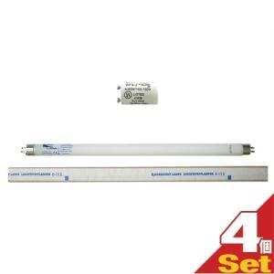 ネオタン用消耗品 UVランプ・チューブ(蛍光管) (15W・29cm)xS2グロースターター(S-2タイプ) 各4個 セット ※当日出荷|ippo0709
