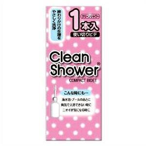 オリモノや生理をさっぱり洗い流す使いきりタイプの膣内洗浄器(ビデ)です。ジャバラネックで角度が自由に...