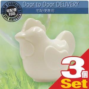 固形石鹸 クロバーコーポレーション とり石けん(Rooster soap) 72g x 3個セット|ippo0709
