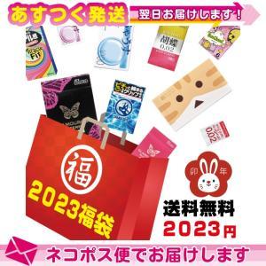 2021年福袋 選べるコンドーム・ローション6点! スキン最大48個+ローション12袋+小型マッサー...