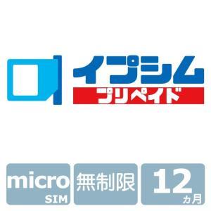 イプシム・プリペイド 固定IPアドレスSIM 無制限タイプ 12ヵ月 (micro SIM)|ipsim