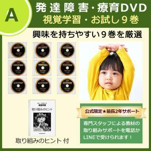 言葉の遅れがある発達障害や自閉症の子供向け(幼児〜)フラッシュカードDVD教材の「視覚学習ティンカーベル9巻」です。