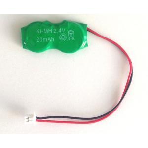 内蔵用二次電池 2.4V 20mAh NiMH【CMOS バックアップ vaio互換端子】