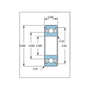 ミネベア ボール・ベアリング DDL-950ZZ ステンレス 5x9x3mm|irijon-y
