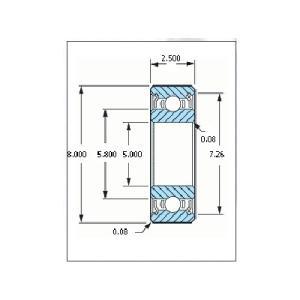 ミネベア ボール・ベアリング DDL-850ZZ ステンレス 5x8x2.5mm|irijon-y