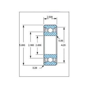 ミネベア ボール・ベアリング DDL-520ZZW52 ステンレス 2x5x2.5mm|irijon-y
