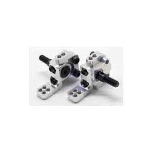 ラップアップNEXT 0219-FD VX フロントナックル シルバー(850 ベアリング/ スマートアクスルシャフト付) irijon-y