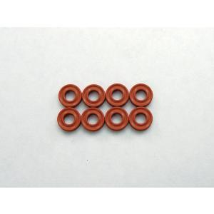 京商 X断面型 Oリング(P3/ダンパー用/オレンジ)8ヶ入 ORG03XR|irijon-y
