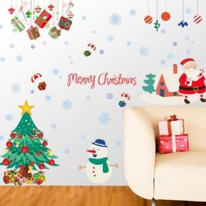 ウォールステッカー クリスマス クリスマスツリー インテリア おしゃれ シール デコレーション 送料無料 irisblue
