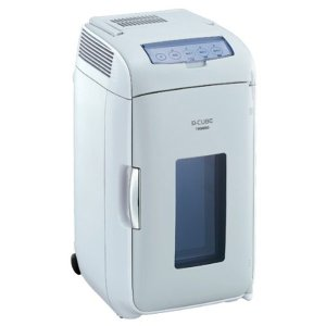 保冷庫 保温器 2電源式ポータブル電子適温ボックスD-CUBE L HR-DB07GY ツインバード(在庫処分特価) irisplaza