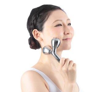 美顔ローラー 美顔器 美顔ローラー 美容器具 コロコロ ゲルマミラーボール美容ローラーシャイン DR-250C 顔マッサージ器|irisplaza