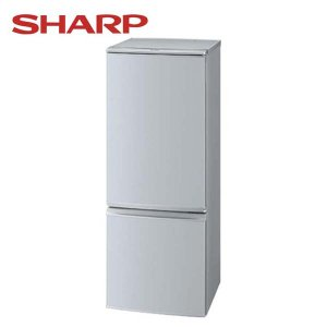 冷蔵庫2ドア小型冷蔵庫シルバー系SJ-D17B-Sシャープ脱臭抗菌ナノ低温脱臭触媒自動製氷