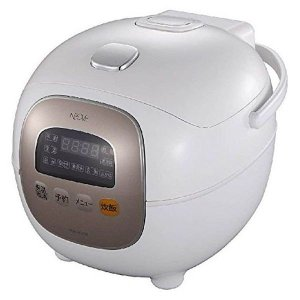 炊飯器 マイコン 3.5合 炊飯ジャー マイコン炊飯器 NRM-M35A NEOVE 1人暮らし おかゆ お粥の画像