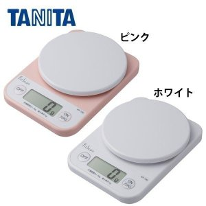 キッチンスケール タニタ  デジタル おしゃれ デジタルクッキングスケール 調理 計量器 KF-10...