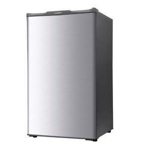 冷凍庫 小型 家庭用 ストッカー 前開き  1ドア 1ドア冷凍庫 60L/WFR-1060SL シルバー WFR-1060SL S-cubism|irisplaza