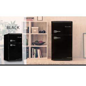 冷蔵庫 冷凍庫 2ドア 85L 家庭用 一人暮らし おしゃれ Grand-Line 2ドアレトロ冷凍/冷蔵庫 85L ARD-85 (D) 小型 1人暮らし デザイン コンパクト|irisplaza|09