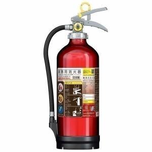 アルミ製蓄圧式粉末ABC消火器10型3kg キャンディレッド UVM10AL モリタユージー (D) (代引不可)