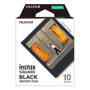 スクエアフィルム instax SQUARE BLACK FRAME WW 1 フジフイルム (D)