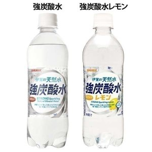 炭酸水 ペットボトル 500ml 48本 伊賀の天然水 強炭酸水 500ml 48本入り サンガリア (D)