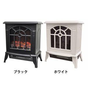 暖炉型ファンヒーター  VS-HF5200BK ベルソス (D)(B) アイリスプラザ PayPayモール店
