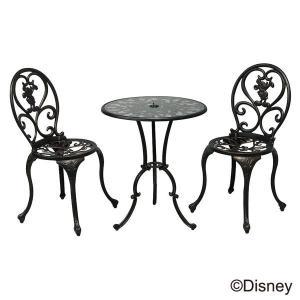 ガーデンテーブル 3点セット ミッキー ディズニー 庭用 6...